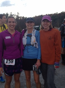 Elizabeth, Martha, and me post-race.