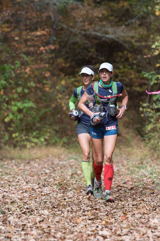 Sophie & I coming into Dowell's Draft - Mile 80.  Photo Credit:  Chris Nicotra
